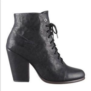 Rag & Bone Miles black ankle boot size EU37.5